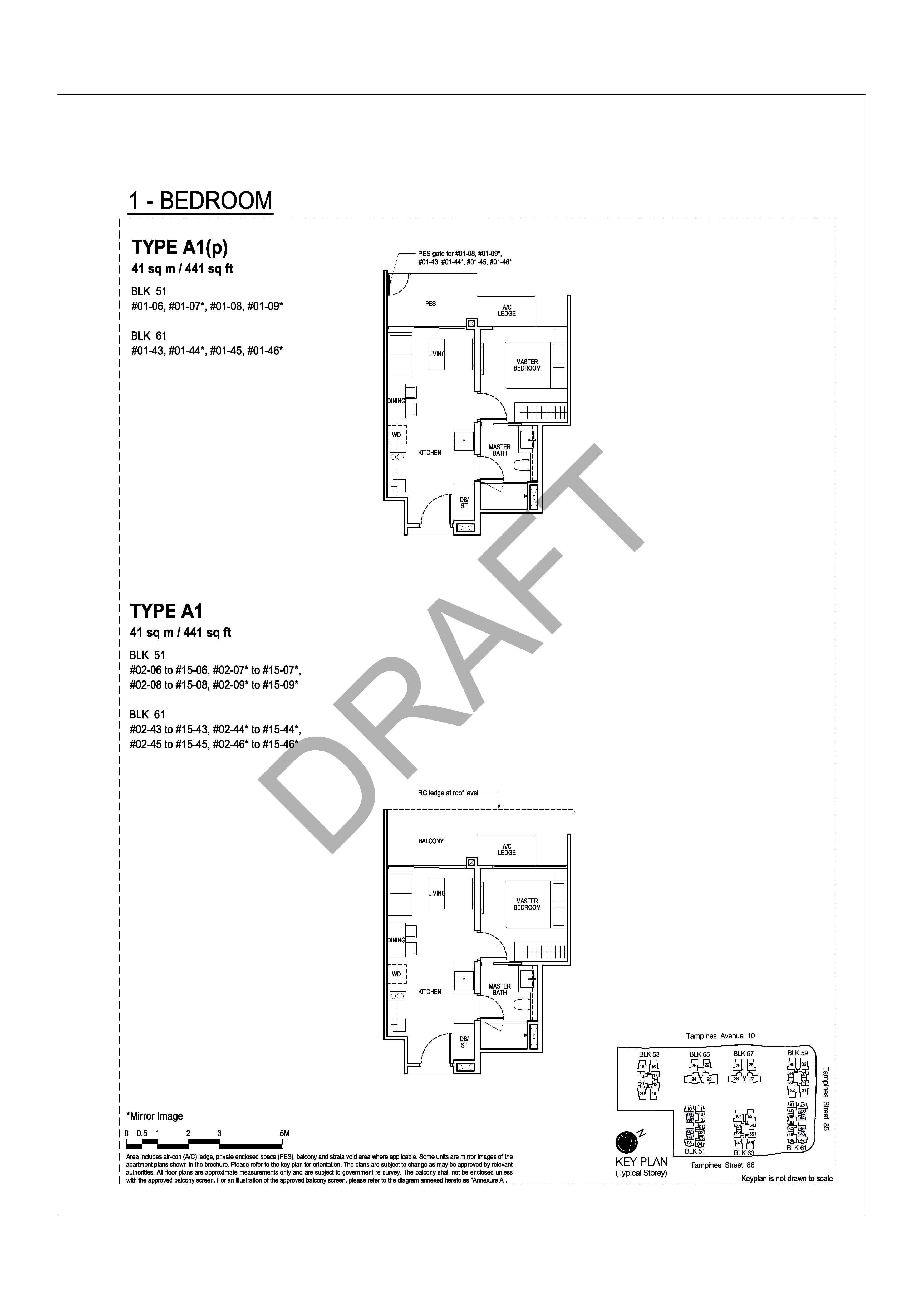 The Tapestry Floor Plans - View Unit Distribution for All Bedroom ...