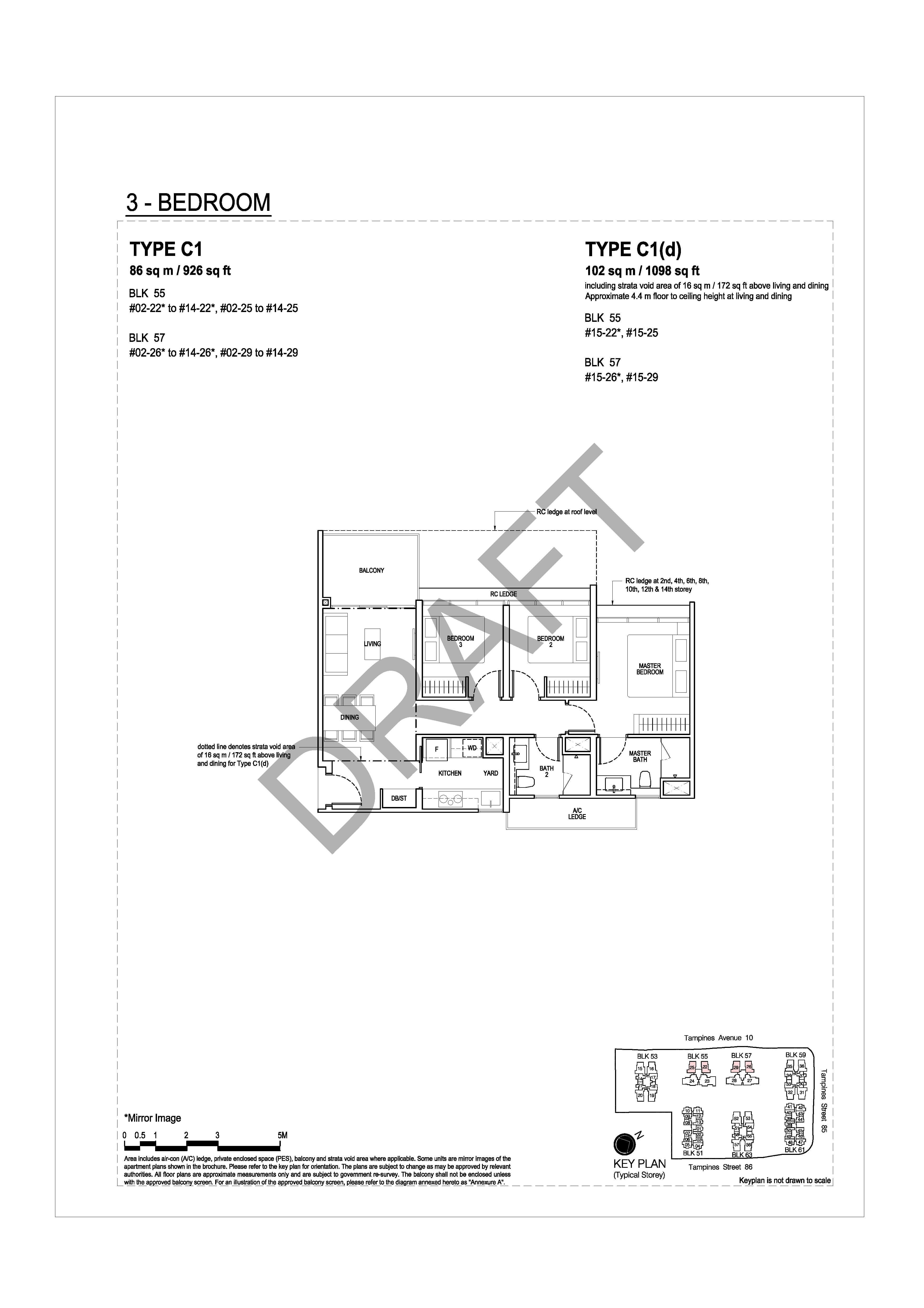 The Tapestry Floor Plans - View Unit