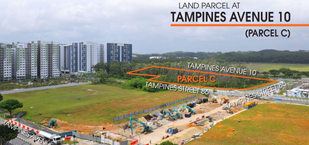plot of land at Tampines ave 10